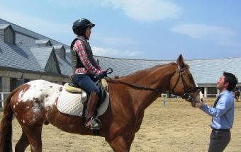 体験乗馬レッスンコース〈1回〉